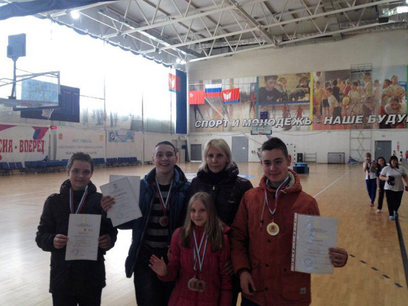 Первенство Московской области по плаванию среди детей с ОВЗ