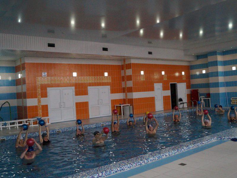 Мастер-класс по аквааэробике для спортсменов-инвалидов старшей возрастной группы