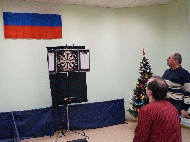Новогодний турнир по дартсу