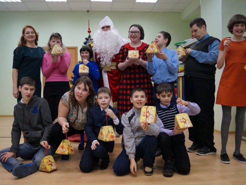 Новогодний огонёк, для детей из секции ритмика
