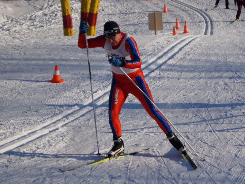 Чемпионат МО по лыжным гонкам среди спортсменов-инвалидов