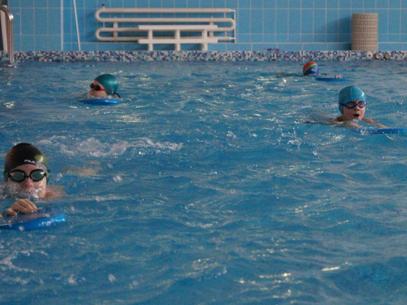 Эстафета по плаванию посвящённая Дню Защитника Отечества