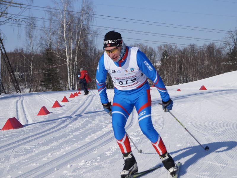 Чемпионат Московской области по лыжным гонкам среди спортсменов-инвалидов
