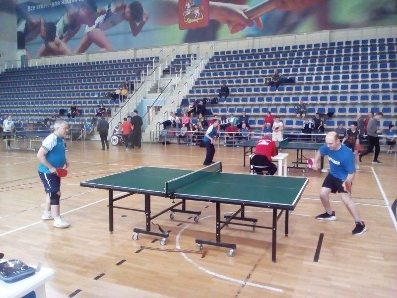 Чемпионат и Первенство Московской области по настольному теннису (спорт лиц с поражением ОДА)