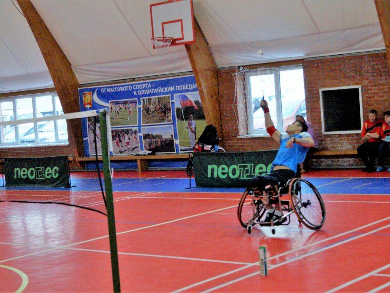 Областной фестиваль спорта по бадминтону среди инвалидов Московской области