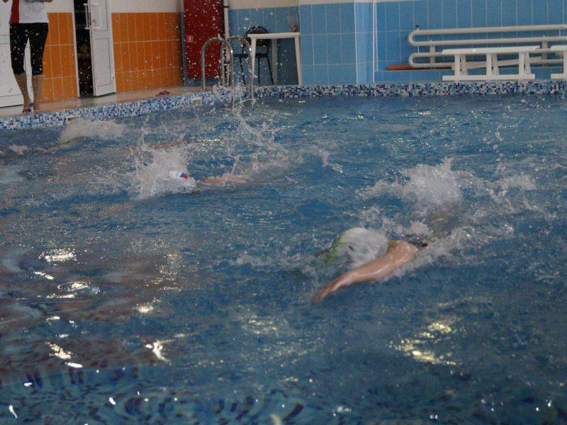 Соревнования по плаванию «Вперед, в Новый Год!