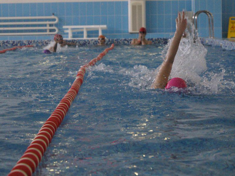 Соревнования по  плаванию посвящённые Дню Защитника Отечества