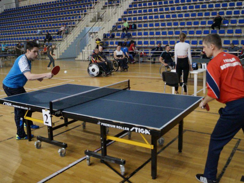 Чемпионат Московской области по настольному теннису (спорт лиц с поражением ОДА)