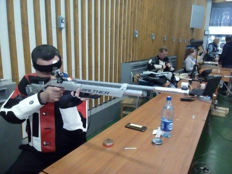 Чемпионат Московской области по пулевой стрельбе среди спортсменов с ПОДА