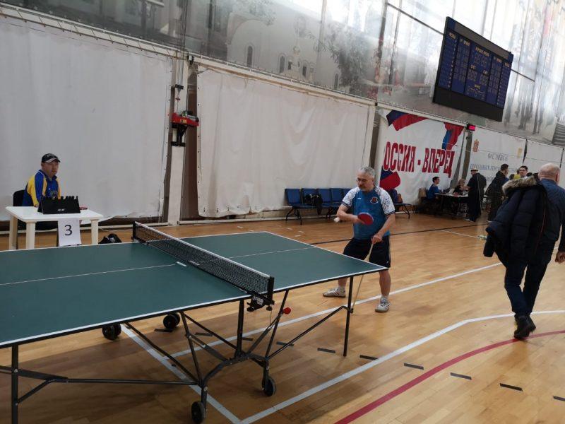 Первенство и Чемпионат Московской области по настольному теннису ПОДА