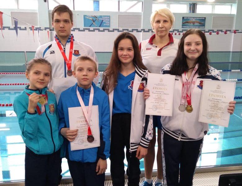 Первенство Московской области по плаванию ПОДА