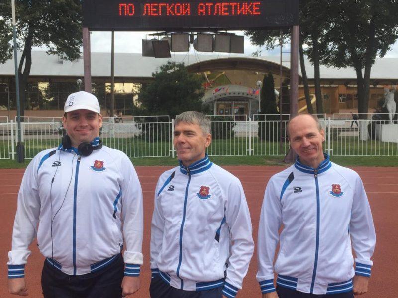 Чемпионат Московской области по легкой атлетике среди спортсменов ПОДА и нарушением зрения
